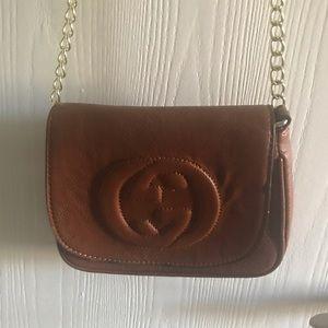 Handbags - NWT brown crossbody bag